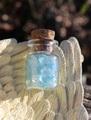 ミニボトルさざれコレクション 宝石質アクアマリン