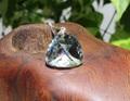 セール特価! 超キラキラ! 宝石質天然水晶 トリリアントカット ペンダントB