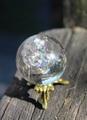 ほんのりスモーキー 虹入り! 天然水晶28ミリ丸玉