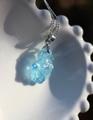 レア! 濃いブルー アクアマリン 原石ペンダント