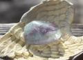 レインボーフローライト 握り石