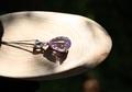 天然アメトリン 宝石カット ペンダント