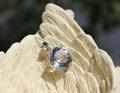 超キラキラ! 宝石質水晶 ブリリアントカット ペンダント
