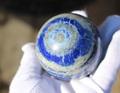 青の天眼! ラピスラズリ 65ミリ丸玉