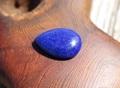 美しい青! 宝石質ラピスラズリ しずく型ルース