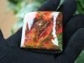 「七色の繁栄の石」 アンモライト(竜の皮)大型タンブル