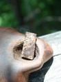 激レア! サハラ隕石(コンドライト)原石プレートタンブル