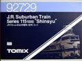 TOMIX 92729 115-1000系近郊電車(信州)
