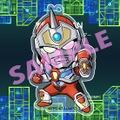 SSSSD.GRIDMANアクキー・電光超人グリッドマン