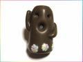 MASUMIの埴輪くん┌|∵|┘(茶色)