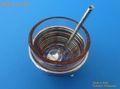 2/19新月発表! イタリア フィレンツェよりMJ直輸入 銀細工アート作品【手作りの塩入れ】