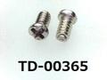(TD-00365) SUSXM7 #0特ナベ [2006] +- M1.4x2.4 パシペート、ノジロック付