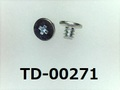 (TD-00271) 鉄16Aヤキ #00特ヒラ [2002] + M1x1.2 三価白