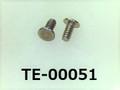(TE-00051) SUS 特ヒラ [1502] M0.8x1.5 パシペート