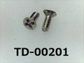 (TD-00201) SUSXM7 #0特サラ + M1x2.65 (D=1.8) パシペート