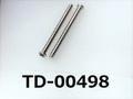 (TD-00498) SUSXM7 #0特ナベ [2305] + M1.6x20 脱脂