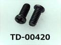 (TD-00420) 鉄16Aヤキ #0-1ナベ [24055] + M1.6x4 三価黒