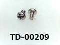 (TD-00209) SUS #0特ナベ [1805] + M1x1.5 パシペート