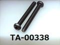 (TA-00338) チタン ナベ [5520] + M3x25 生地