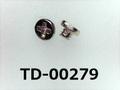 (TD-00279) 鉄16Aヤキ #0特ナベ [20045] + M1.2x1 ニッケル