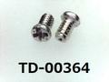 (TD-00364) SUSXM7 #0特ナベ [2006] +- M1.4x2.3 パシペート、ノジロック付