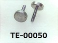 (TE-00050) SUS 特ヒラ [2307] M0.6x3 生地