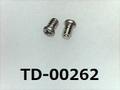 (TD-00262) SUSXM7 #00特ナベ [1404] + M1x1.5 パシペート ノジロック付