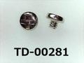 (TD-00281) 鉄16Aヤキ #0特ナベ [2508] + M1.2x1 ニッケル