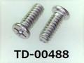 (TD-00488) SUSXM7 #0特ナベ [2305] + M1.6x4 パシペート
