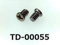 (TD-00055) 鉄16A ヤキ #0特ナベ[1904] + M1.2×1.3 ニッケル