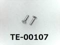 (TE-00107) アルミ #00特サラ (D=1.0) + M0.6x2 生地