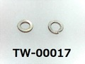 (TW-00017) SUS スプリングワッシャー M1.0 生地