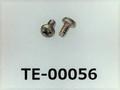(TE-00056) SUS304 #00特ナベ [14046] + M0.7x1.2 パシペート