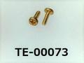 (TE-00073) 真鍮 #00特ナベ [1404] + M0.6x2 生地