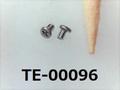 (TE-00096) SUS304 #00特ナベ [1103] + M0.6x1 生地
