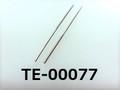 (TE-00077) 鉄 棒ネジ M0.6x22 (S=11) ニッケル