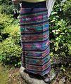 マヤン巻スカート 藍 3