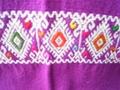 マヤ織りショール 紫