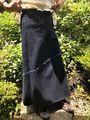 マヤン巻スカート 藍 2