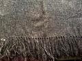 マヤ織りショール モカ(ウール100%)