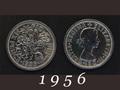 1956年 6ペンスコイン