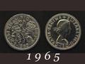 1965年 6ペンスコイン