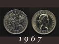 1967年 6ペンスコイン
