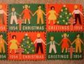 クリスマスシール・1954