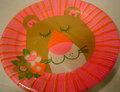 ライオンの紙皿