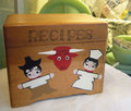 木製レシピボックス