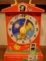 #998 Music Box Teaching Clock