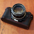 MINOLTA(ミノルタ) X700用 本革カメラケース(ブラック)