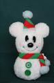 2011クリスマス スノーマンミッキーぬいぐるみ Sサイズ