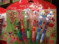 2011クリスマス ボールペンセット スノーマン